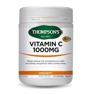 Vitamin C 1000mg Chewable by Thompsons 150 tabs