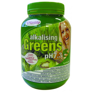 Alkalising Greens pH7.3 by Morlife