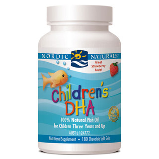 Children's DHA by Nordic Naturals Chewable  soft gels