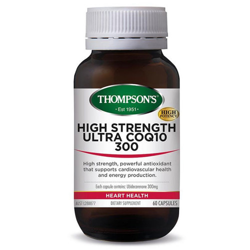 CoQ10 300 mg High Strength 60 caps by Thompsons