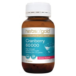 Cranberry 60000 by Herbs of Gold 50 tabs