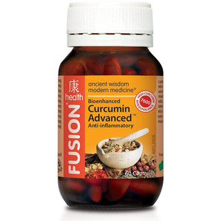 Curcumin Advanced by Fusion Health 60 caps