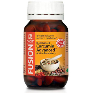 Curcumin Advanced by Fusion Health 90 caps
