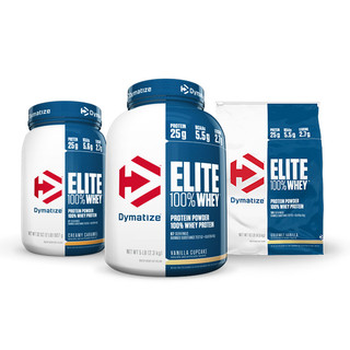 Elite Whey Protein 2.3kg by Dymatize Nutrition
