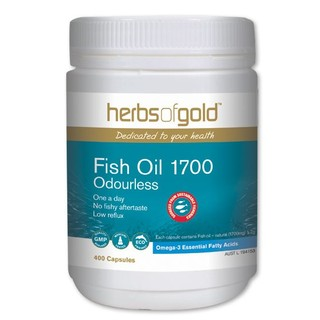 Fish Oil 1700 by Herbs of Gold 400 caps
