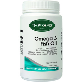 Omega 3 Fish Oil 1000mg by Thompsons