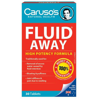 Fluid Away by Carusos Natural Health 30 tabs