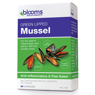 Green Lipped Mussel by Blooms 60 caps