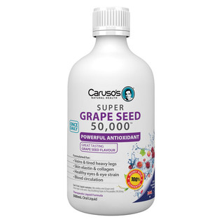 Grape Seed 50,000 by Caruso's 500ml Exp. 08/2017
