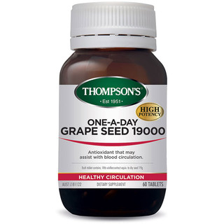 Grape Seed 19000 by Thompsons 60 tabs