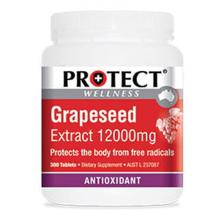 Grapeseed 12000mg 300 tabs by Protect Wellness