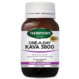 Kava Kava 3800mg 60 tabs by Thompsons