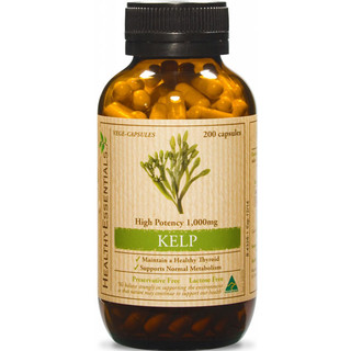 Kelp 1000mg  200 vcaps by Healthy Essentials