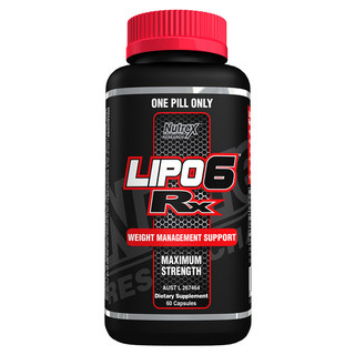Lipo6 Rx by Nutrex Research 60 caps