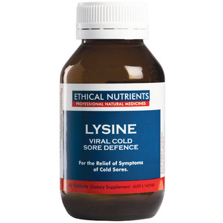 Lysine Viral Cold Sore Defence 60 tabs by Ethical Nutrients
