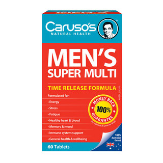 Men's Super Multi by Caruso's 60 tabs