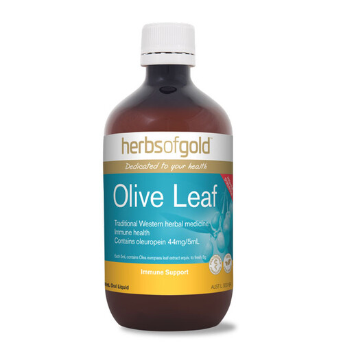 Olive Leaf by Herbs of Gold 500ml Natural Flavour