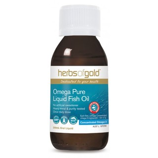 Omega 3 Fish Oil by Herbs of Gold 200ml