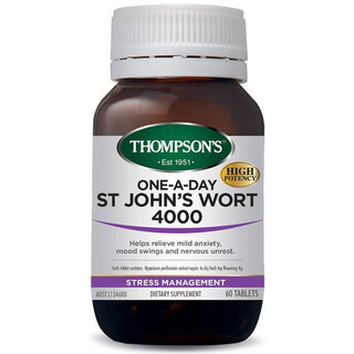 St John's Wort 4000 60 tabs by Thompsons