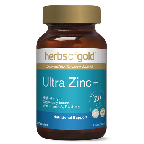 Ultra Zinc Plus by Herbs of Gold 60 vcaps