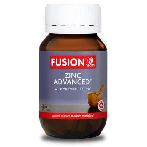 Zinc Advanced by Fusion Health 60 tabs