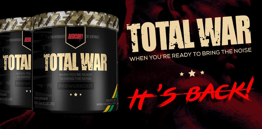 Total War Pre Workout 30 serves by Redcon1