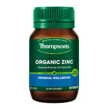 Organic Zinc by Thompsons 80 tabs