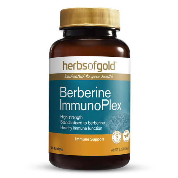 Berberine ImmunoPlex by Herbs of Gold 30 tabs