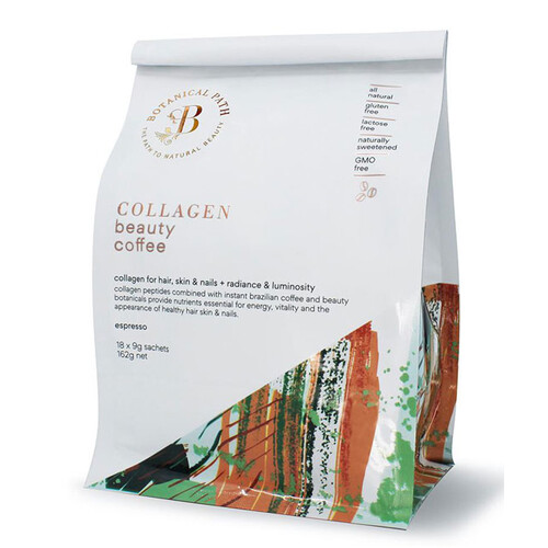 Collagen Beauty Coffee by Botanical Path 18 sachets