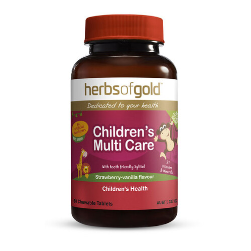 Children's Multi Care by Herbs of Gold 60 tabs
