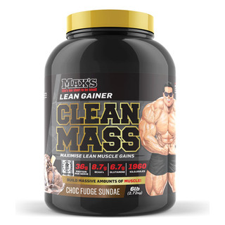 Clean Mass Gainer 2.72kg by Max's