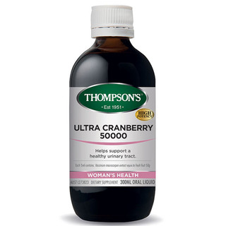 Ultra Cranberry 50000 by Thompsons 300ml