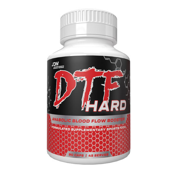 DTF Hard by JD Nutraceuticals 90 caps