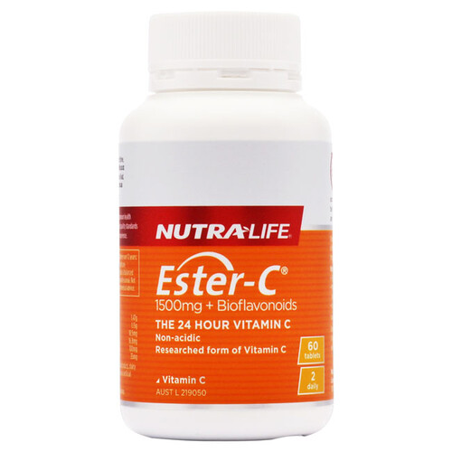 Ester-C 1500 + Bioflavanoids by Nutra Life