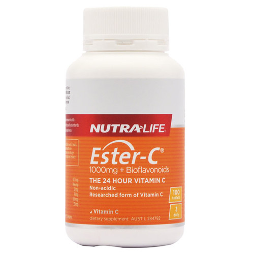 Ester-c 1000mg by Nutra Life 100 tabs