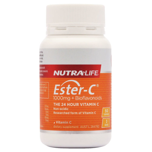 Ester-c 1000mg by Nutra Life 50 tabs