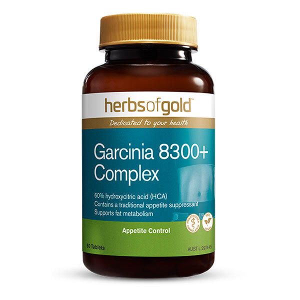 Garcinia 8300 + Complex by Herbs of Gold 60 tabs