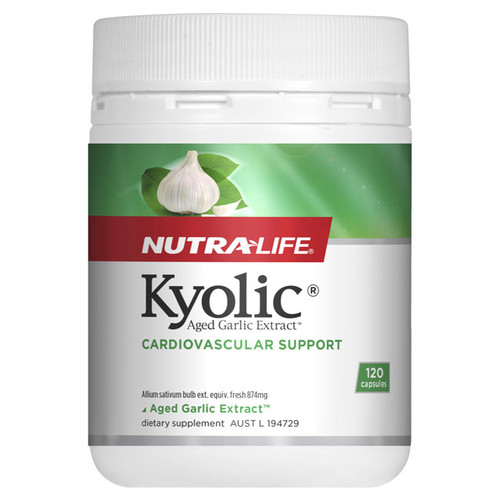 Kyolic Garlic by Nutra Life 120 caps