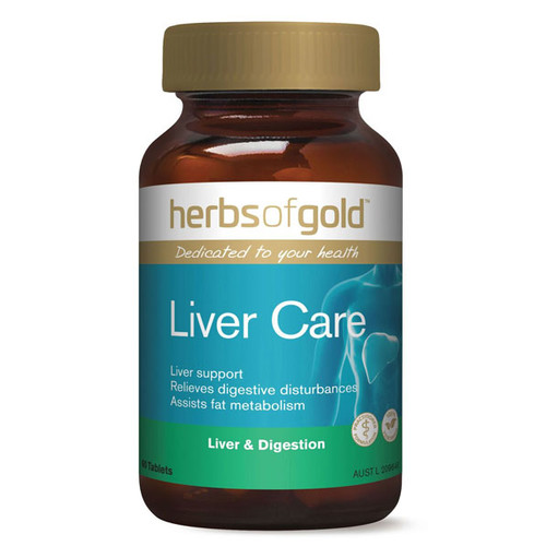 Liver Care 60 tabs by Herbs of Gold